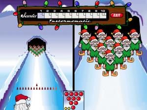 elf-bowling